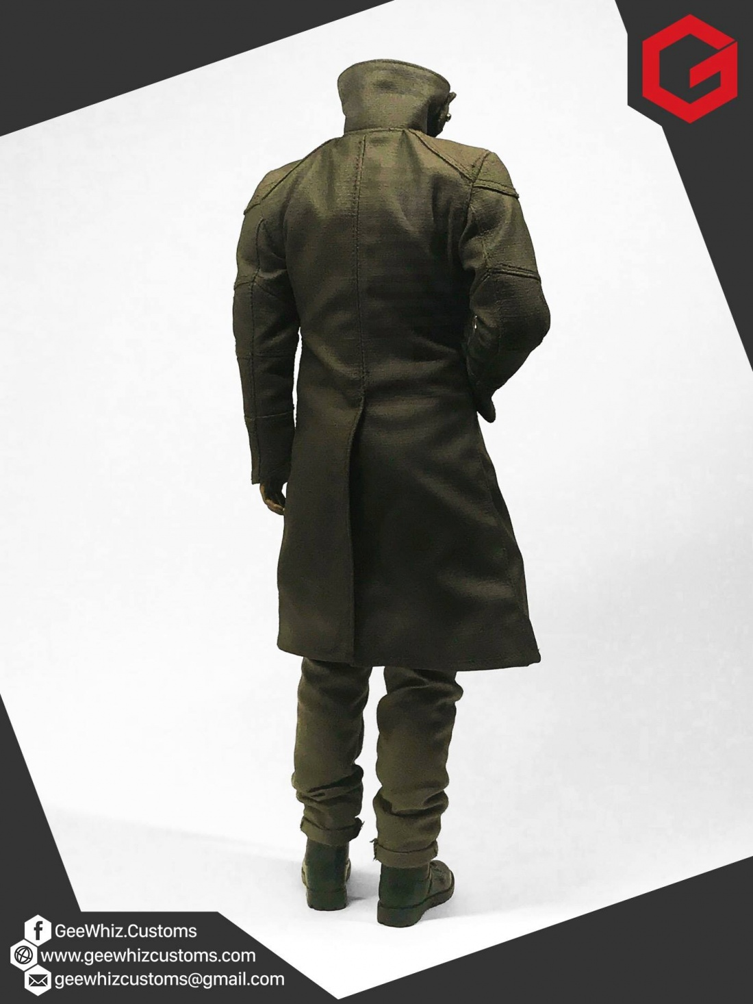 Geewhiz Customs Officer K S Outfit In Blade Runner 2049
