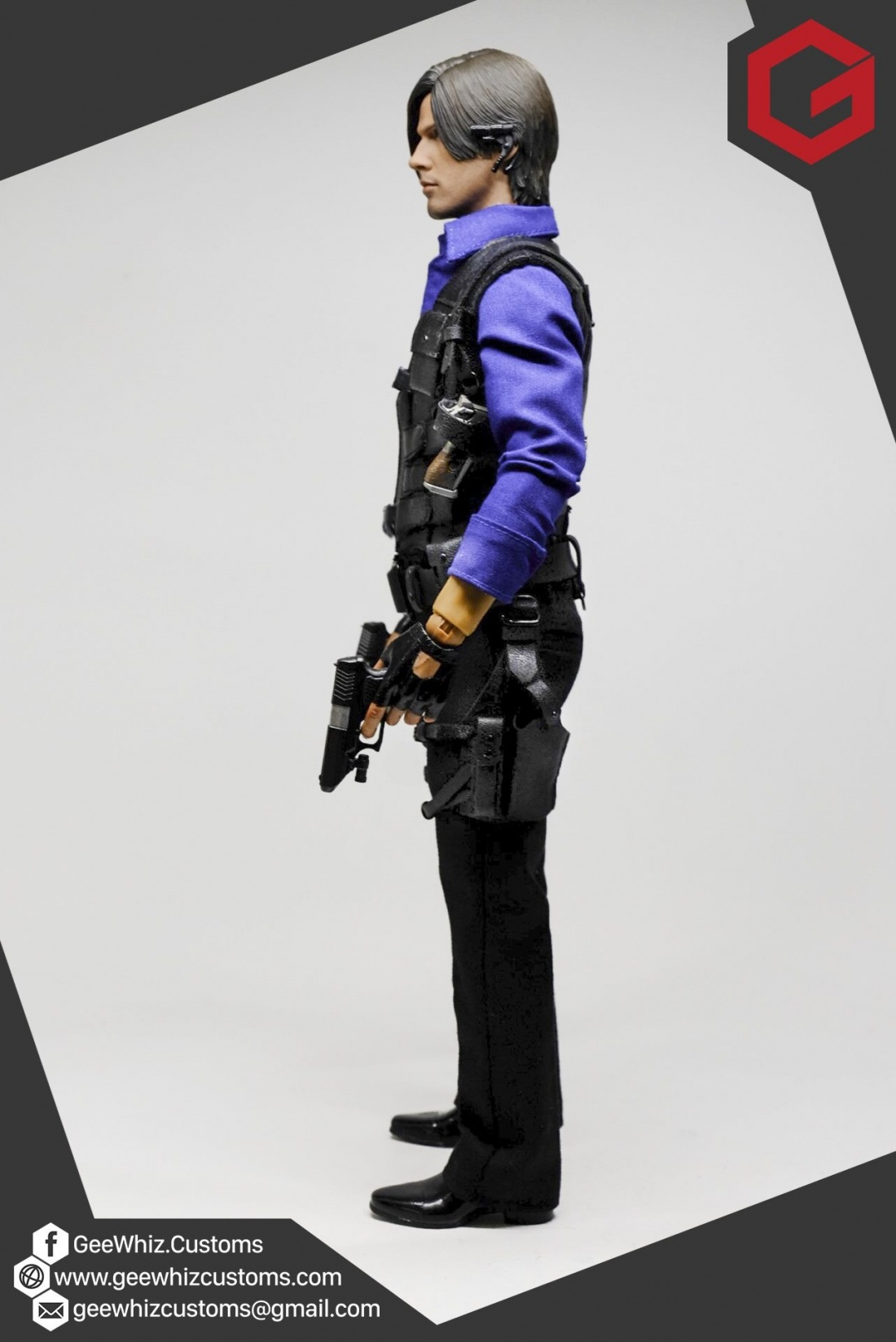 Geewhiz Customs Leon Kennedy S Resident Evil 6 China Outfit 1 6