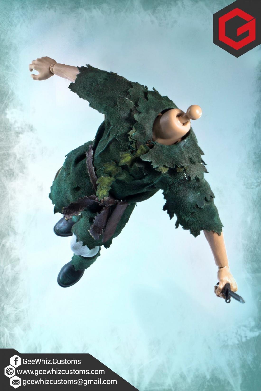 Geewhiz Customs: Custom 1/6 Scale Peter Pan (Hook) Clothing