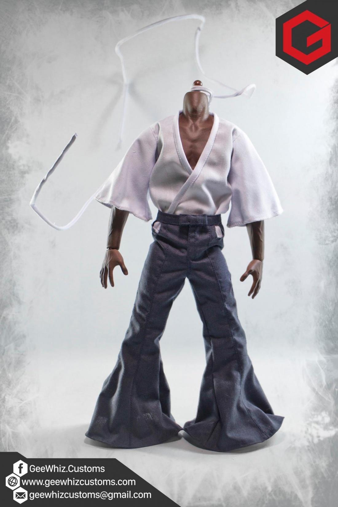 Geewhiz Customs Custom 1 6 Scale Afro Samurai Clothing